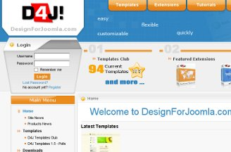 Design for Joomla