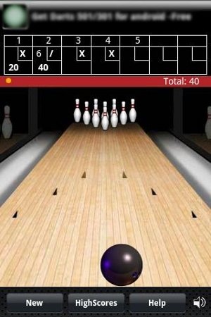 Finger Bowling Android Game