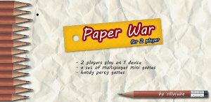 Paper War Android Game